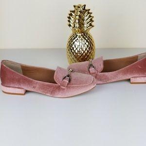 Steve Madden Velvet Loafers